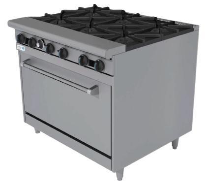 Estufa con horno y estufa multiple asber for Estufa industrial con horno
