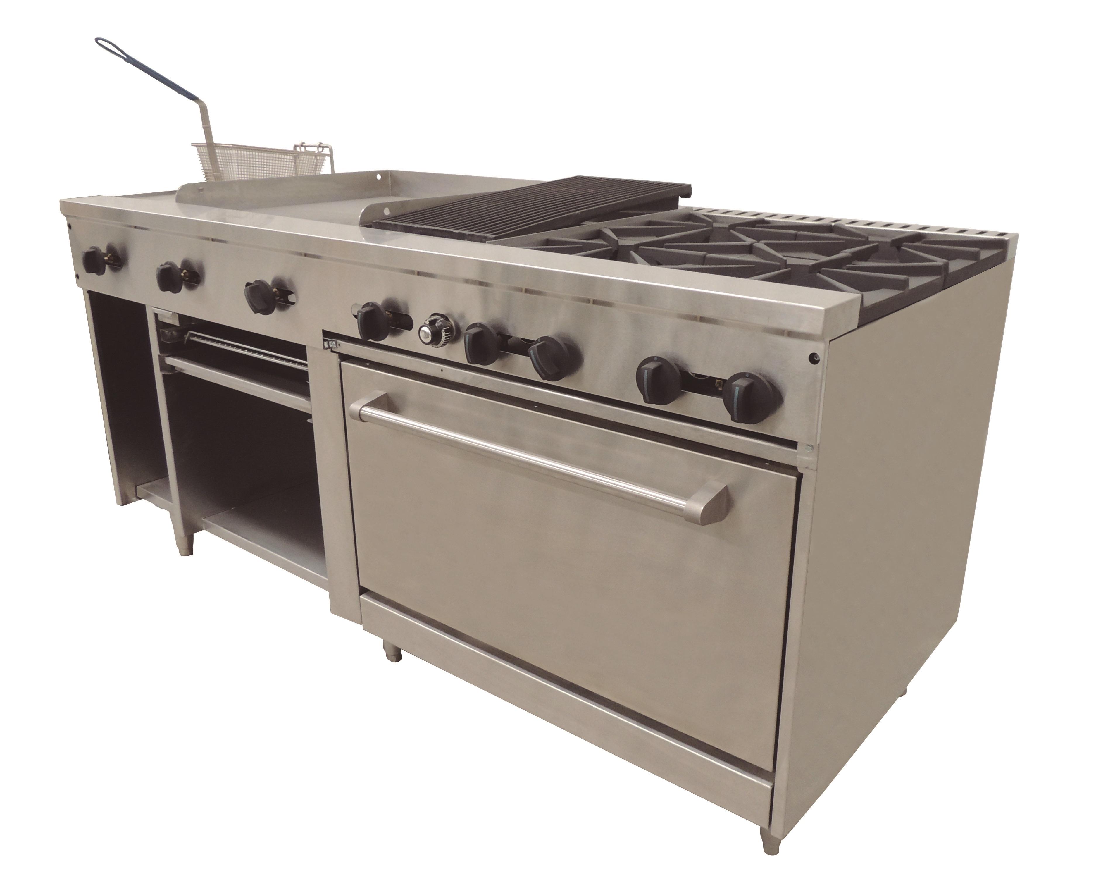 Parrillas para cocina parrilla de gas cm marca eb eb for Parrilla cocina industrial